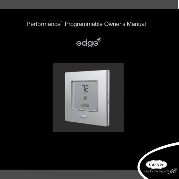 Performancet Programmable Owner's Manual - Docs.hvacpartners ...