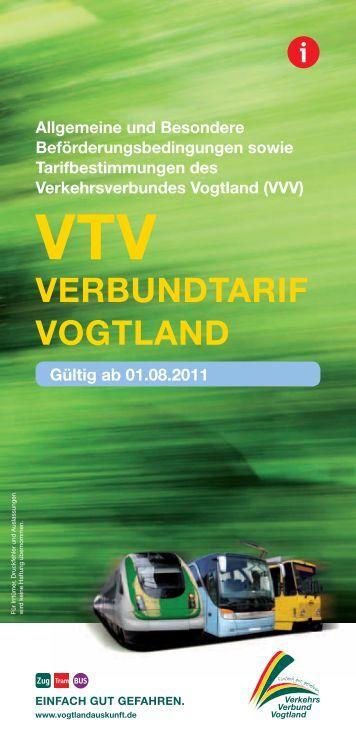 VERBuNDTARIf VOGTlAND - Vogtlandauskunft