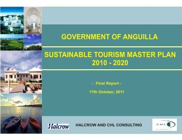 developing a plan for tourism in jamaica Development planning in jamaica – the new  tourism jamaica has a healthy  natural environment 13 sustainable management and use of environmental.