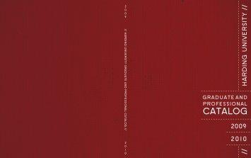 Graduate Catalog Cover PDF