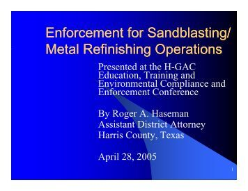 Enforcement for Sandblasting/ Enforcement for Sandblasting/ Metal ...