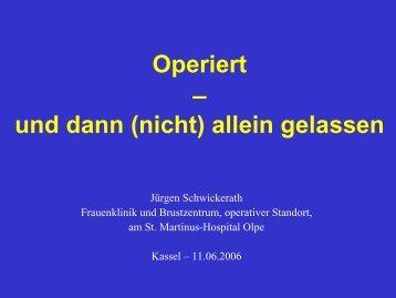 Behandlung - Habichtswald-Klinik
