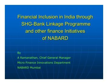 financial inclusion through india post