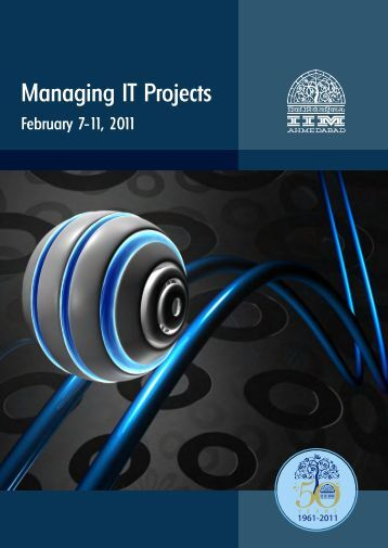 Managing IT Projects pdf - Indian Institute of Management ...