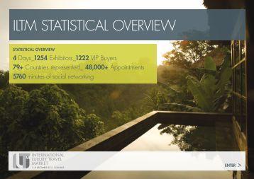 ILTM STaTISTIcaL OvervIew - International Luxury Travel Market