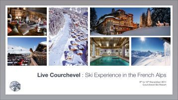 Live Courchevel - International Luxury Travel Market