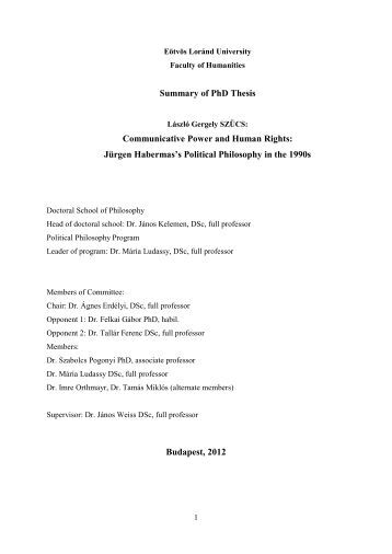 phd thesis in philosophy