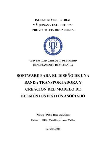SOFTWARE PARA EL DISEÑO DE UNA BANDA ... - E-Archivo UC3M