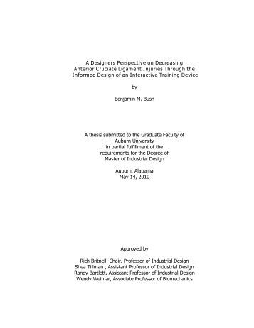 Thesis for electronics