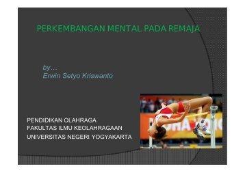 Materi Perkembangan mental - Staff UNY - Universitas Negeri ...