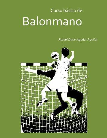 Curso básico de balonmano - VIREF - Biblioteca Virtual de ...