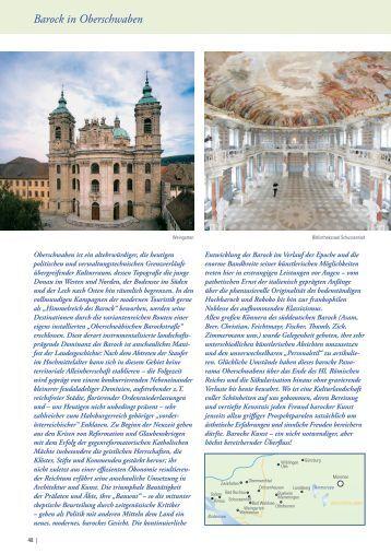 Barock in Oberschwaben - BLLV Reisedienst