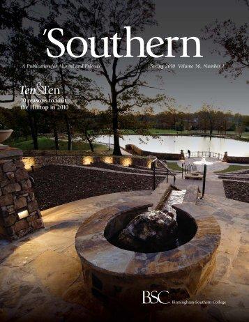 spr 10 southern_web draft.indd - Birmingham-Southern College