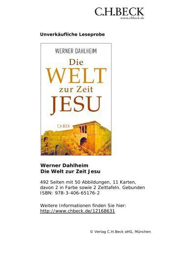 Die Welt zur Zeit Jesu - C.H. Beck
