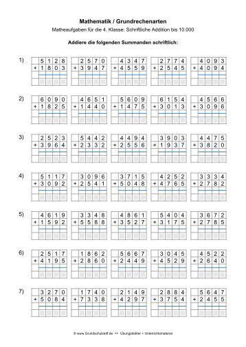 arbeitsblatt vorschule 187 schriftlich addieren kostenlose