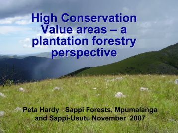 guidelines for plantation forestry in south australia 2009