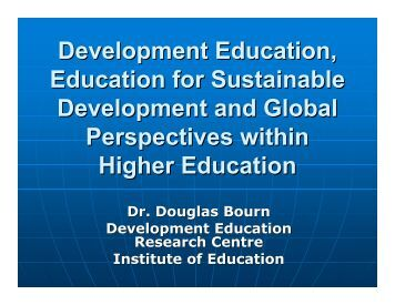 Development Education - Higher Education Academy