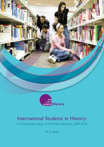 International Students in History: - Higher Education Academy