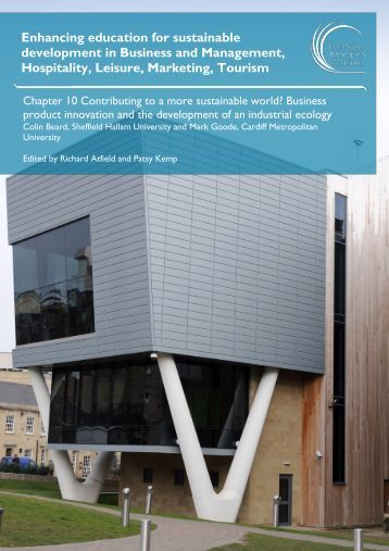 Contributing to a more sustainable world? Business product ...