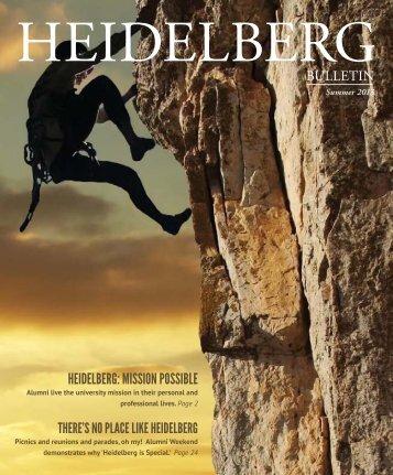 Vol. 45, Issue 2, Summer 2013 - Heidelberg University