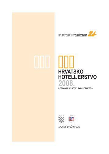Hrvatsko hotelijerstvo 2008. - Hrvatska gospodarska komora