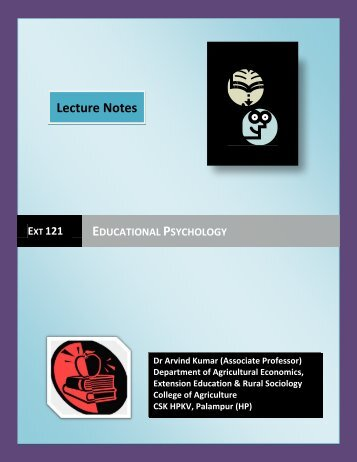 psychology & educational psychology: meaning & definition