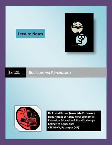 psychology & educational psychology: meaning & definition