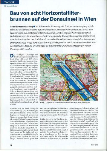 brunnen auf der Donauinsel in Wien - BHG Brechtel Gmbh