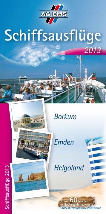 Schiffsausflüge 2013 - AG Ems