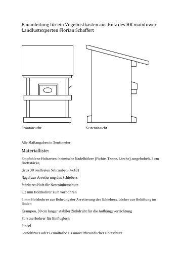 nistkasten magazine. Black Bedroom Furniture Sets. Home Design Ideas