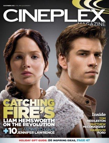 Cineplex Magazine November2013