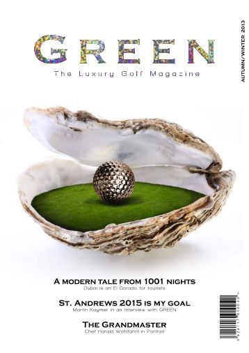 Green - The Luxury Golf Magazine III int.