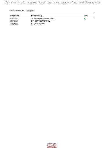 CWP_2309_GOOD_Nassportal_(12676910) - Ersatzteil-Zeichnungen