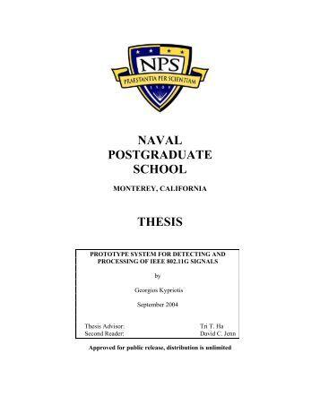 William mcraven naval postgraduate school thesis