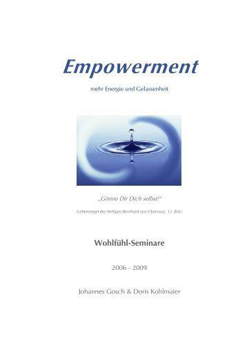 Empowerment I