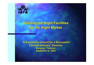 Suvarnabhumi Airport - IATA