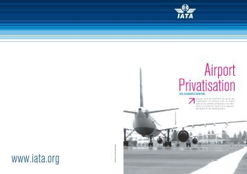 Sale of airports to private companies and investors - IATA