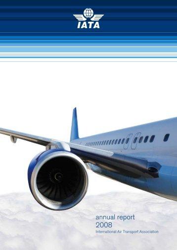 IATA Annual Report 2008