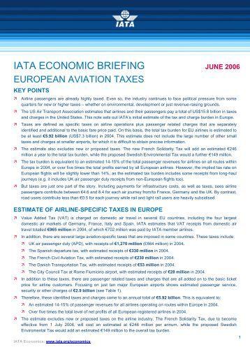 JUNE 2006 - IATA