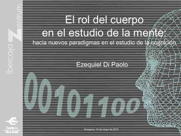 El rol del cuerpo en el estudio de la mente: - Laboratorio Virtual ...