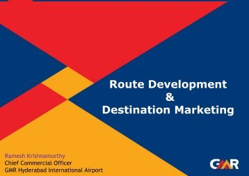 Route Development & Destination Marketing - ICCA
