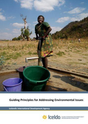 environmental principles Human rights and the environment:  the relationship between human rights and environmental protection in international law  principles8 in summary,.