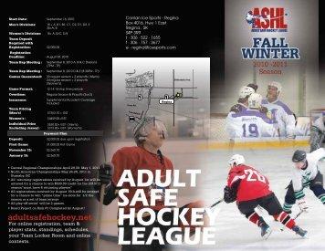 adultsafehockey.net - Canlan Ice Sports