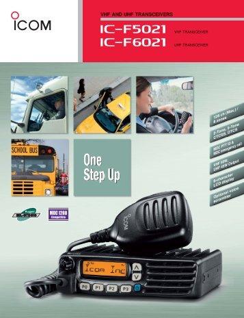 Product Brochure - ICOM Canada