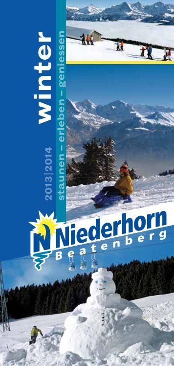 winter - Niederhorn