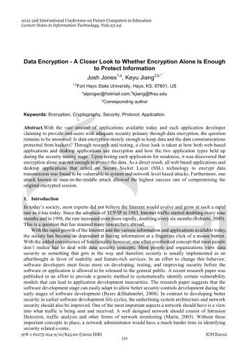 data encryption with ecc Data encryption and decryption with elliptic curve cryptography ravi kumar kodali department of ece national institute of technology warangal,506004,india.