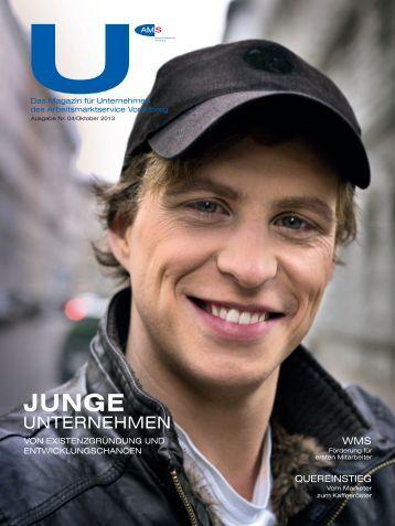 U - Das Magazin für Unternehmen des AMS Vorarlberg