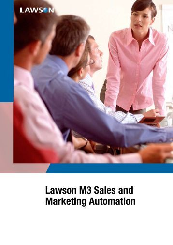 Lawson M3 Sales and Marketing Automation