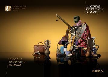 Discover. experience. Luxury. - International Luxury Travel Market