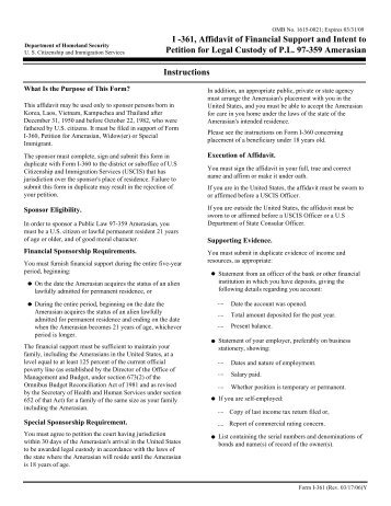 Form I 864w I 864w Supporting Documents View Original Image Images ...